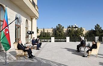 Azerbaycan lideri Aliyev: Pakistan'ı Keşmir meselesinde destekliyoruz