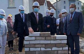 Almanya'da DİTİB camisi ve külliyesinin temeli törenle atıldı