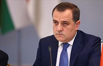 Azerbaycan Dışişleri Bakanı Bayramov Gürcistan'da