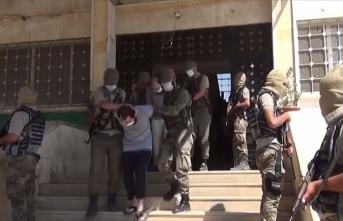 Azez'de DEAŞ'a operasyon