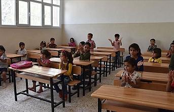 Barış Pınarı bölgesinde yeni eğitim-öğretim yılı başladı