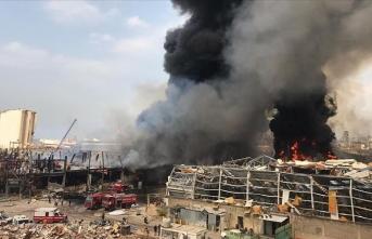 Beyrut Limanı'nda çıkan yangın kontrol altına alındı