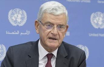 BM Genel Kurul Başkanı Bozkır, Kovid-19'a karşı iş birliği çağrısı yaptı