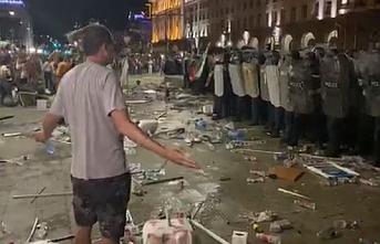 Bulgaristan'da göstericiler Sofya'nın merkezinde toplandı