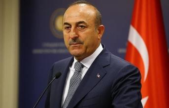 Çavuşoğlu'ndan Azerbaycan Cumhurbaşkanı Aliyev'e Doğu Akdeniz teşekkürü