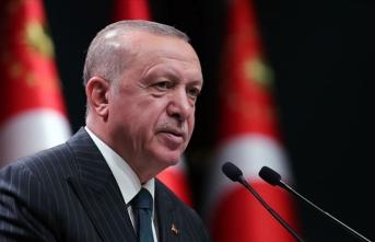 Cumhurbaşkanı Erdoğan, Cumhurbaşkanlığı Kabine Toplantısı'nın ardından açıklamalarda bulundu