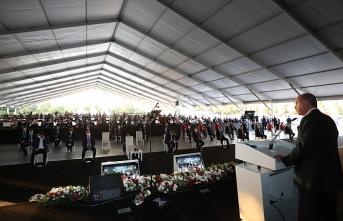 Cumhurbaşkanı Erdoğan: Gaziantep'e bir model fabrika kuruyoruz