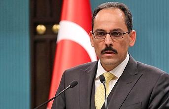 Cumhurbaşkanlığı Sözcüsü Kalın'dan Doğu Akdeniz mesajı