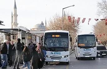 Edirne'de 65 yaş ve üstü vatandaşlara ücretsiz toplu ulaşım aracı kısıtlaması