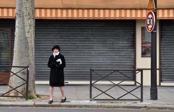 Fransa'da son 24 saatte 10 bin 561 Kovid-19 vakası tespit edildi
