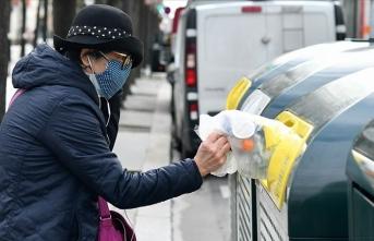 Fransa'da son 24 saatte 9 bin 406 Kovid-19 vakası tespit edildi