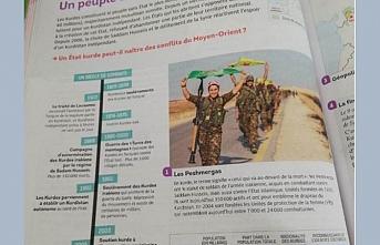 Fransa'da ders kitaplarına giren skandal PKK propagandasına Türkiye'den sert tepki