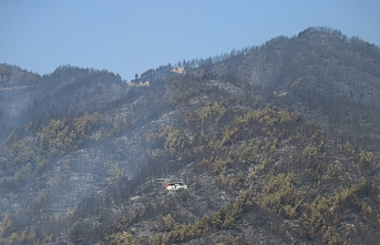 Hatay'daki orman yangınında üçüncü gün