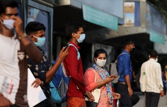 Hindistan'da mayısta 6,4 milyon Kovid-19 vakasının bulunduğu tahmin ediliyor