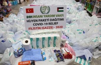 İHH'dan Gazze'ye destek