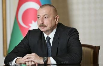 İlham Aliyev, Başkan Erdoğan'a teşekkür etti