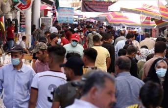 Irak'ta Kovid-19 nedeniyle toplamda 8 bin 867 kişi hayatını kaybetti