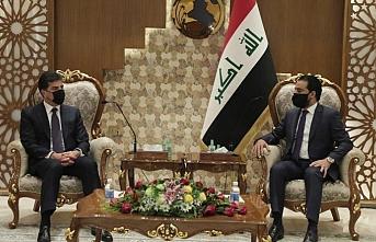Irak Meclis Başkanı Halbusi ile IKBY Başkanı Barzani bir araya geldi