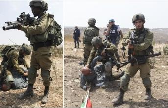 İsrail askerlerinin Filistinli yaşlı adama uyguladığı şiddet ABD'deki George Floyd olayını hatırlattı
