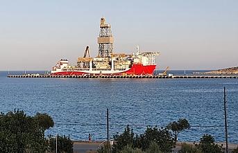 Kırmızı beyaza boyanan Kanuni Akdeniz'e açılmaya hazırlanıyor