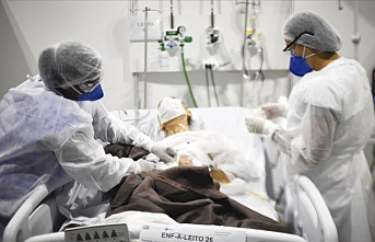 Kovid-19 nedeniyle Hindistan'da, Brezilya'da ve Meksika'da ölü sayısı artıyor