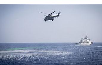 Libya açıklarında arama kurtarma eğitimi yapıldı