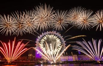Londra'da yeni yıl etkinlikleri iptal