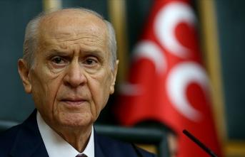 MHP Genel Başkanı Bahçeli: Cumhur İttifakı'nın 2023 yılında cumhurbaşkanı adayı Erdoğan'dır
