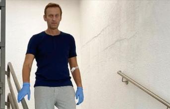 Navalnıy, elbiselerini istedi