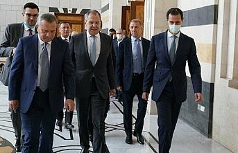 Rus bakan sekiz yıl sonra Suriye topraklarında