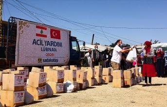 Sadakataşı Derneği'nden Lübnan'daki 800 mülteci aileye yardım
