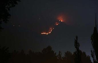Tüm camilerde yağmur duası edildi: Yangın 5 gündür sürüyor