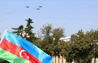Türk F-16'ları Gence'de uçuş gerçekleştirdi