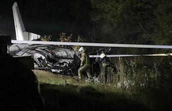 Ukrayna'da düşen uçakta ölü sayısı 26'ya yükseldi