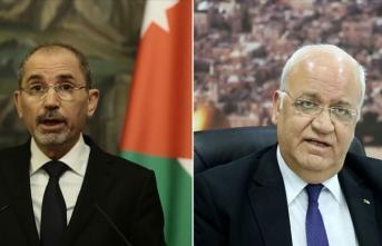 Ürdün ve Filistin iki devletli çözümü görüştü