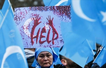 Uygur aktivist Abdulreşit BM'de soykırım var dedi