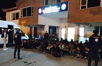 Van'da 63 düzensiz göçmen yakalandı