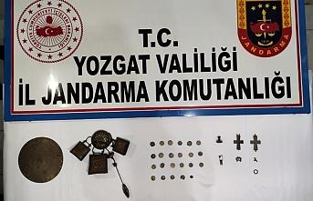 Yozgat'ta 545 parça tarihi eser ele geçirildi