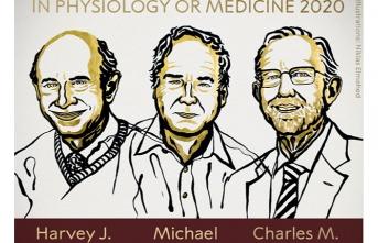 2020 Nobel Tıp Ödülü 3 bilim insanına verildi