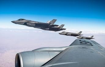 ABD, İsrail semalarında F-35 tatbikatı yaptı