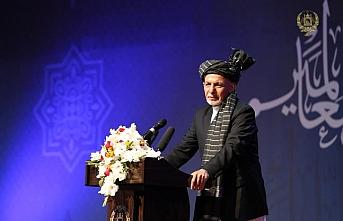 Afganistan Cumhurbaşkanı Mevlit Kandilinde Taliban'a çağrı yaptı