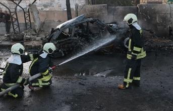 Afrin'de bombalı araçla terör saldırısı düzenlendi
