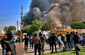 Bağdat'taki KDP bürosuna baskına tepki