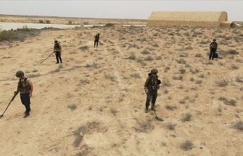 Darbeci Hafter'in patlayıcılarını Türk askeri temizliyor