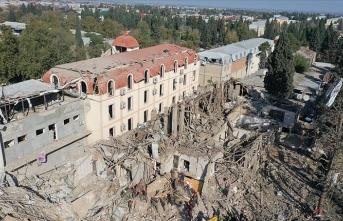 Din adamları Gence'de sivillere yönelik saldırıları kınadı