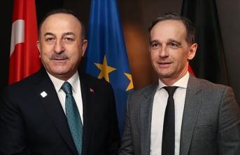 Dışişleri Bakanı Çavuşoğlu Almanya Dışişleri Bakanı Maas ile görüştü