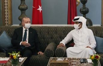 Erdoğan'ın ziyareti Katar basınında büyük yankı uyandırdı