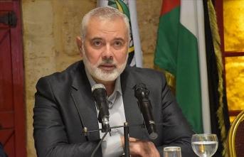 Hamas lideri Heniyye BM temsilcisiyle görüştü