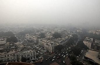 Hindistan'ın başkentinde hava kirliliği için kampanya