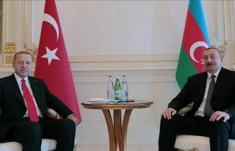 İlham Aliyev Cumhurbaşkanı Erdoğan'ı aradı